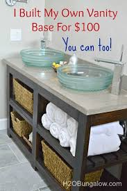 bathroom ana white simple gray bath vanity diy projects build your