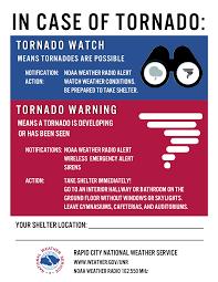 tornado safety pennington county south dakota