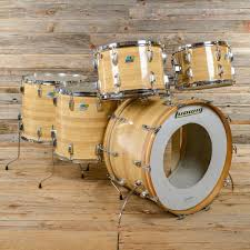 ludwig pro beat 13 14 16 18 24 5pc drum kit butcher block cortex