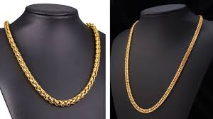 man necklace gold jewelry images Simple latest gold chains designs for men gold jewellery jpg