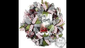 mesh wreath 30 inch ruffle tutorial by jkatskreations