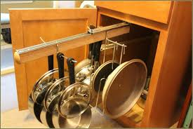 Diy Kitchen Cabinet Organizers by Pull Out Cabinet Organizer Roll Shelves On Modern Homecoration