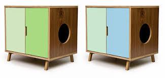 Kitty Litter Bench Cat Litter Furniture Now Arena Kitty Litter Box After Oak