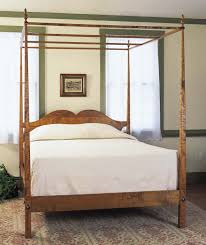 high and pencil post bed vermont furniture works