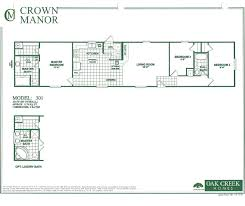 Mobile Home Floor Plans by Oak Creek Homes Single Wide Floor Plans