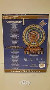 brand new mr world s fair grand ferris wheel gold label