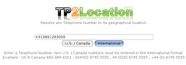 find location of phone number on map find location and address of any mobile telephone or landline