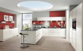 Red Colour Kitchen - modern german kitchens view our e brochure at inhaus design