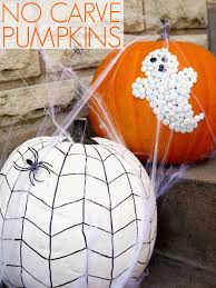 No carve pumpkin decorating C R A F T