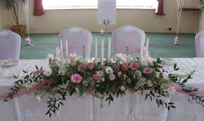 table top flower arrangements top table flower arrangements for weddings gorgeous top table