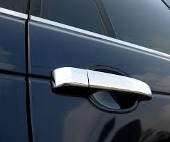 lexus door handle key cover chrome door handle covers for range rover l322 vogue