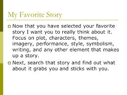 themes for my story my favorite story ppt download