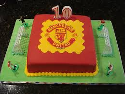 manchester united football club cakecentral