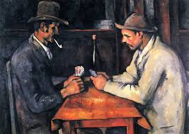 painted cards for sale for 250 million qatar buys one of cézanne s the card players