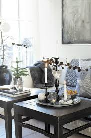 winter family room decorating