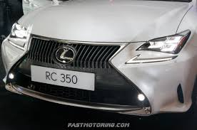 toyota lexus malaysia sale lexus malaysia launches all new lexus rc 350 and rc f coupe