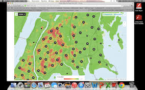 New York City Crime Rate Map by Trulia Crime Maps New York York Locke Real Estate