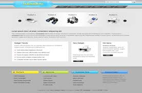 grey css free grey blue gadgets css website template free web templates