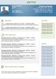 free resume templates free samples to download examples of resumes