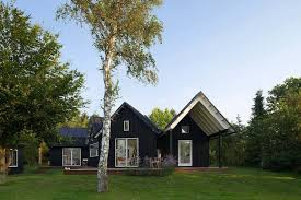 Contemporary Cabin Contemporary Yet Traditional Danish Summer Cabin