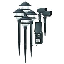 Low Voltage Path Light Kits Duracell Landscape Lighting Outdoor Lighting The Home Depot