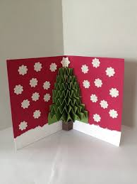3d christmas tree cards christmas lights decoration