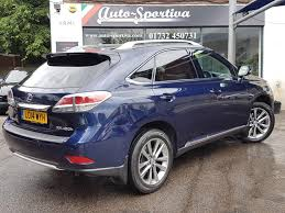 lexus hybrid 2014 used 2014 lexus rx 450h 450h premier top of the range spec for