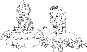 sofia coloring pages printable tagged princess
