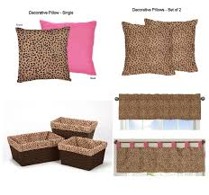 Cheetah Twin Comforter Pink Brown Cheetah Animal Print Bedding Twin Teen 4pc