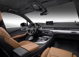 Audi Q7 Colors - interior audi mediacenter