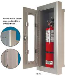 semi recessed fire extinguisher cabinet access doors fire extinguishers metal shelves construction products
