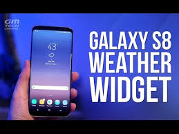 best android weather widget galaxy s8 weather widget for any android phone