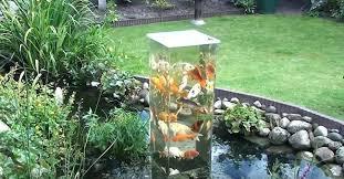 Backyard Fish Pond Ideas Astounding Ideas For Fish Ponds Creative Ideas Observation Tower