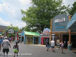 Six Flags Outlets Goliath At Six Flags Over Georgia Theme Park Archive