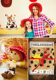 jessie cowgirl themed birthday toy story party hostess