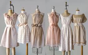mismatched neutral bridesmaid dresses wvkm dresses trend