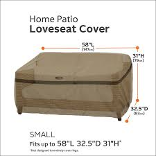 Amazon Patio Furniture Covers by Amazon Com Classic Accessories Hickory Heavy Duty Patio Sofa