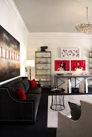 Red And Black Living Room Designs | 100 best red living rooms interior design ideas