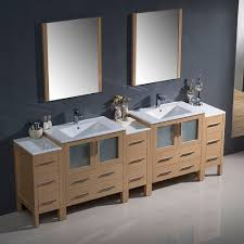 Modern Double Sink Bathroom Vanity by 96 Inch Bathroom Cabinets In Bathroom Vanity Cabinets Rocket