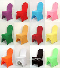 Spandex Banquet Chair Covers Top Quality Thick Quality 245gsm Color Lycra Spandex Banquet Chair