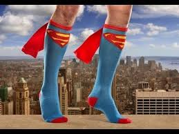 Super Socks Flying High In My Super Man Socks Youtube