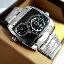 Jam Tangan Alba Analog jam tangan alba dualtime analog square stainless