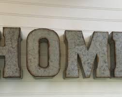 metal letters etsy