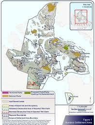 Northern Canada Map by Canada Nunavut