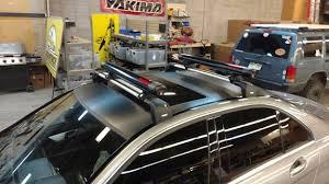 mercedes c class roof bars mercedes c class 4dr rack installation photos