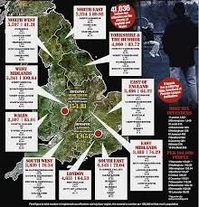 child predator map 41 036 registered offenders in uk the sun the uk