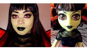 Monster High Doll Halloween Costumes by Monster High Luna Mothews Makeup Tutorial Youtube