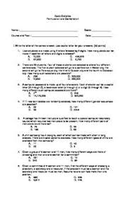 permutation worksheets free worksheets library download and