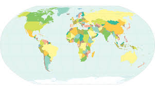 Blank World Map by World Map In Colors No Strip Clip Art At Clker Com Vector Clip