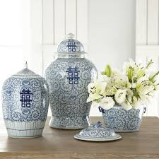 What Is Ginger Jars Happiness Pots Tall Wisteria